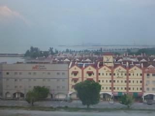 マラッカ海峡とマラッカの街