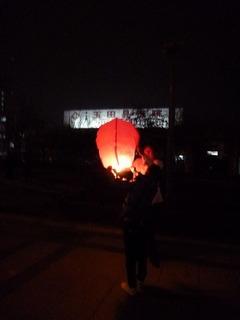 中国の旧正月と灯篭