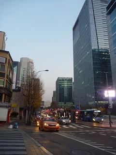 韓国ソウルオフィス街